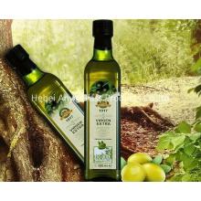 500 мл зеленая бутылка оливкового масла прямоугольника, пищевое стекло стеклянные бутылки