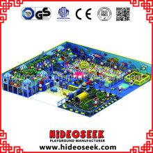Soft Playground Equipment mit riesigen Ball Pit und Traffice