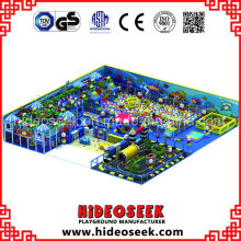 Soft Playground Equipment with Huge Ball Pit and Traffice