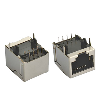 RJ45 Jack Side Entry Shield Zonder EMI 1X1P