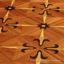 Precios de pisos de madera de parquet marrón