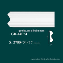 Modern House Castable Decoration Materials PU Crown Moulding