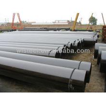 Horario 80 de acero galvanizado precio del tubo de acero