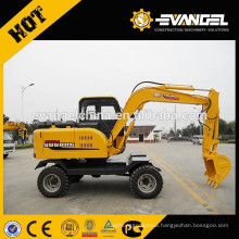 USED 6Ton Mini Wheel Excavator WYL65 For Sale