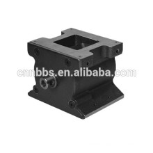 High precision machined pneumatic rotary valve parts,OEM service
