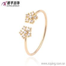 13545 xuping producto de moda nuevo anillo de diseño en chapado 18k para mujer