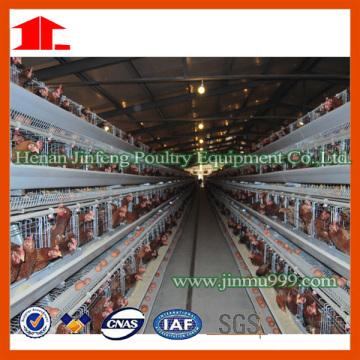 Cage de volaille de ferme de volaille de Chine