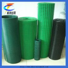 China-Fabrik PVC beschichtetes geschweißtes Draht-Ineinander greifen (ISO 9001)
