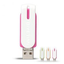 Unidad flash USB OTG de plástico de alta velocidad giratoria 16 GB