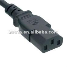 C13 Cable de alimentación de CA Ordenador Fuente de alimentación UL Power Strip