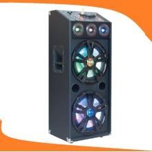 12 pulgadas de doble subwoofer Active Trolley altavoz para Karaoke E24