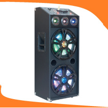 12 Inch Dual Subwoofer Active Trolley Speaker for Karaoke E24