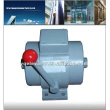 elevator safety device elevator rope brake