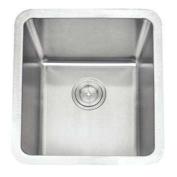 Cupc Stainless Steel Radius 25 Single Bowl Sink for Kitchen