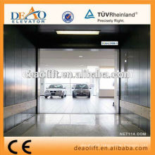 Opposite Entrance Car Elevator with Double Car Operation Panel