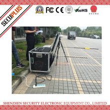 Uvss- Mobile under vehicle explosive inspection machine for prison