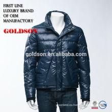 La última y moda Uncapped el invierno corto de los hombres abajo chaqueta / capa con servicio del OEM en Zhejiang China