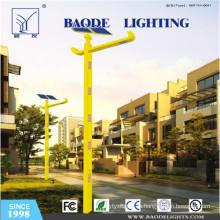 Luz de calle solar de la turbina de viento de 8m poste 60W LED (BDTYN850-w)