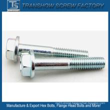 1/2X2 Inch Carbon Steel Hex Flange Head Screws