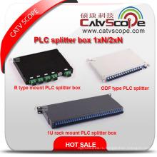 Китай Поставщиком высокое качество Коробка 1xn/2xn PLC сплиттер