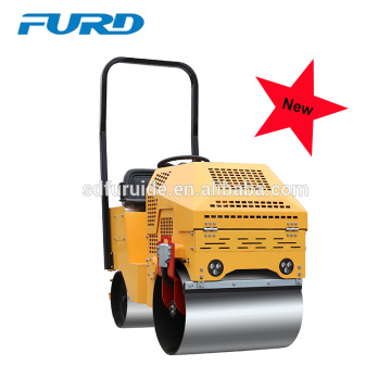 Small Vibrating Steel Wheel Road Roller for Sale (FYL-860)