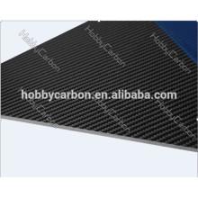 Саржа матовая 3k полный углеродного волокна Производитель лист/плита/доска