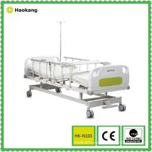 Cama de hospital eléctrica de dos funciones con freno central (HK-N103)