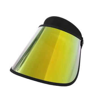 Ultra Width Sun Cap Protection UV couleur or