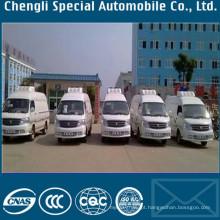 4 x 2 Mini-10 grau caminhão refrigerado congelador fresco