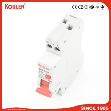 EARTH LEAKAGE CIRCUIT BREAKER KNBL1-32 32A 10mA SEMKO