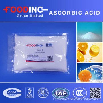 Antioxidans Bulk Ascorbinsäure Vitamin C Pulver