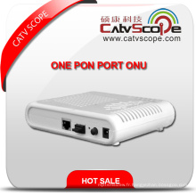 Terminal Gepon Haute Performance Réseau Fibre Optique Unite One Pon Port ONU