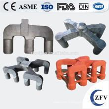 Bonne qualité et la griffe de l'anode de vente chaude en acier