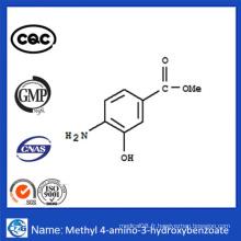 CAS 63435-16-5 99,8% Poudre chimique 4-Amino-3-Hydroxybenzoate de méthyle