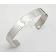 Small thin steel matt silver bangles for women uk