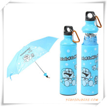Moda a Parasol sección publicidad promoción de botella, paraguas de regalo