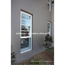 Современные жилые алюминиевые двустворчатые окна