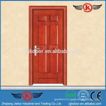 JK-W9022 porte en bois / porte en bois massif / portes modernes en bois