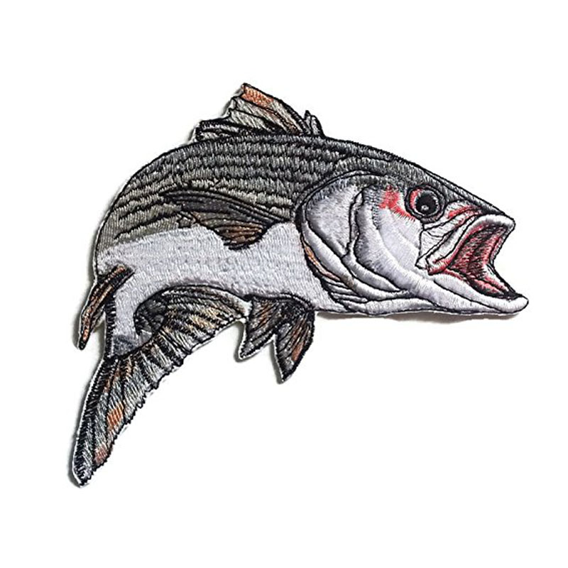 Golden Trout Fish Embroidered Patch