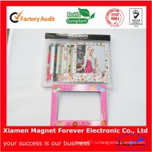 Магнитный холодильник фоторамка Смолаы PVC