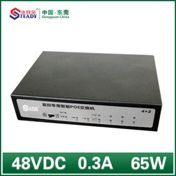 4 Ports Gigabit Standard Managed POE Switch
