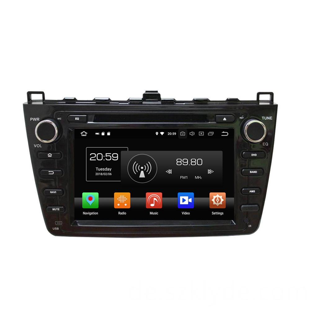 double din dvd for MAZDA 6