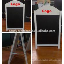 Factory price folding wooden blackboard