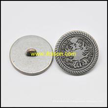 Botón de caña metálica básica