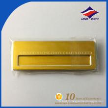 Badges en forme de blanc couleur élégante en or haute qualité