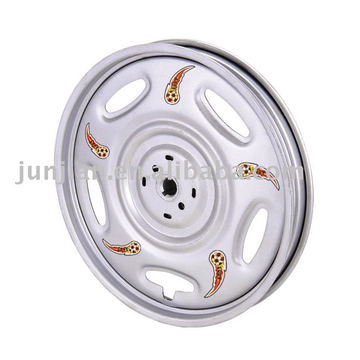 Tricycle wheel rim steel chrome