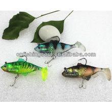 SLL001 cm, 18g pesca suave atrae cebo suave