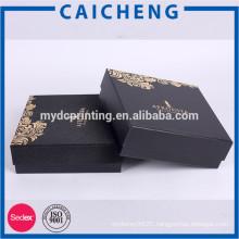 Cardboard box packaging for perfume bottles