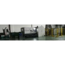 Línea de producción automática de pernos de palas de turbinas eólicas