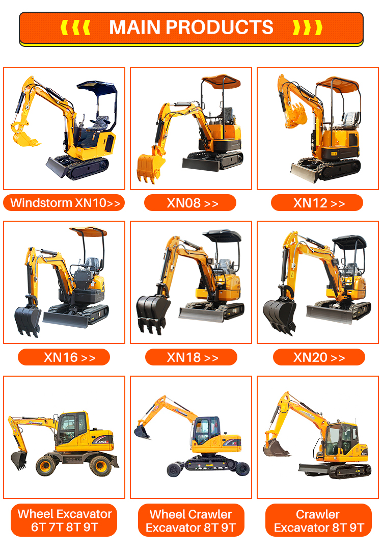 Mini Excavator Backhoe